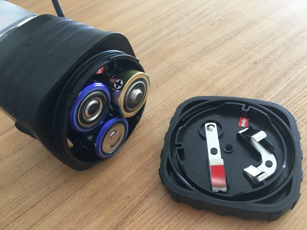 LEDランタン電池部分